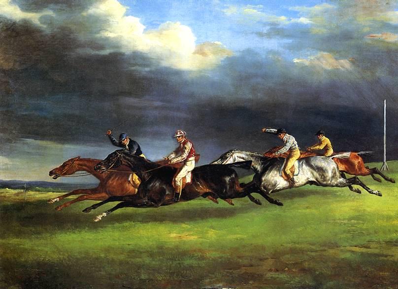ЖЕРИКО ТЕОДОР Скачки в Эпсоме, 1821