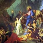 <b>ЖУВЕНЕ ЖАН Воскрешение Лазаря, 1706</b>