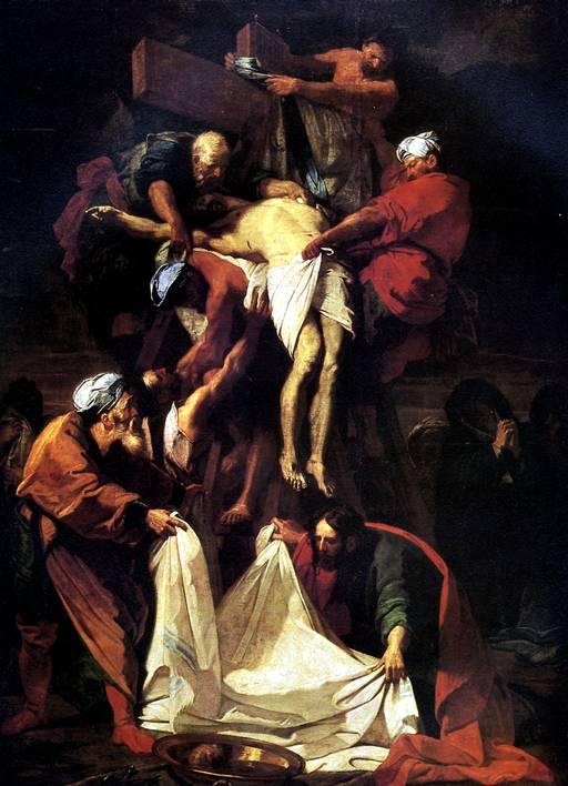 ЖУВЕНЕ ЖАН Снятие с креста, 1697