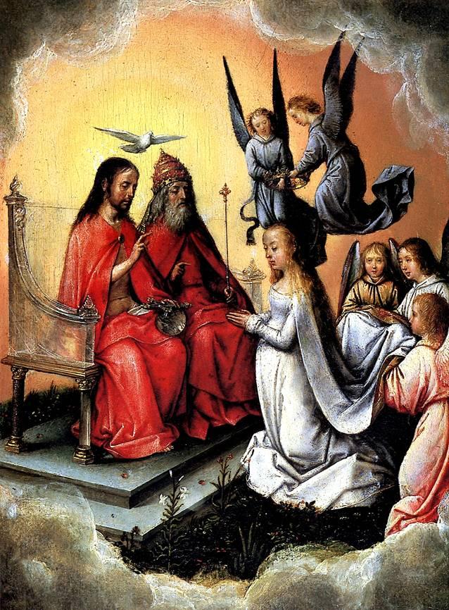 ЗИТТОУ МИХАЭЛЬ, РАНЕЕ ИЗВЕСТНЫЙ КАК МАСТЕР МИХИЭЛЬ Коронование Богоматери, до 1504