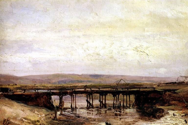 ИЗАБЭ ЭЖЕН Деревянный мост