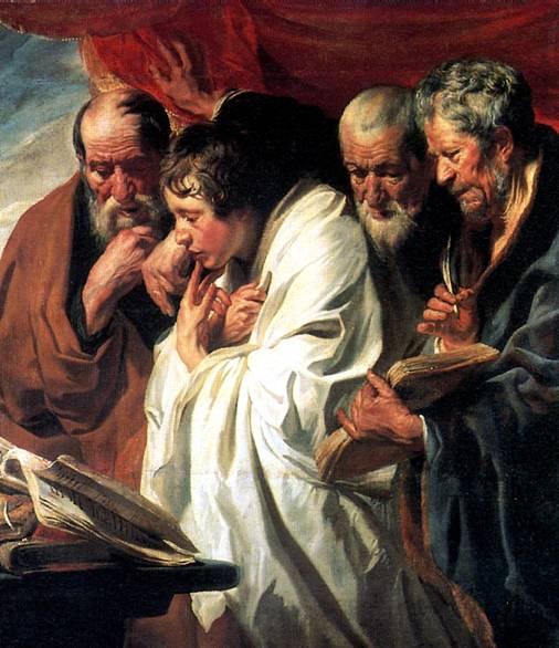 ЙОРДАНС ЯКОБ Четыре евангелиста