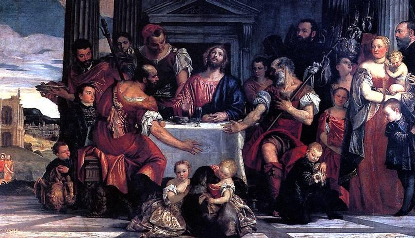 КАЛЬЯРИ ПАОЛО, ПРОЗВАННЫЙ ВЕРОНЕЗЕ Христос в Эммаусе