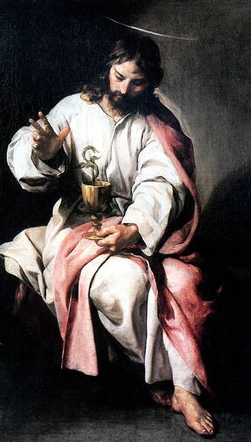 КАНО АЛОНСО Св. Иоанн Евангелист с чашей яда