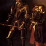 <b>КАРАВАДЖО Алоф де Виньякур и его паж, 1608</b>
