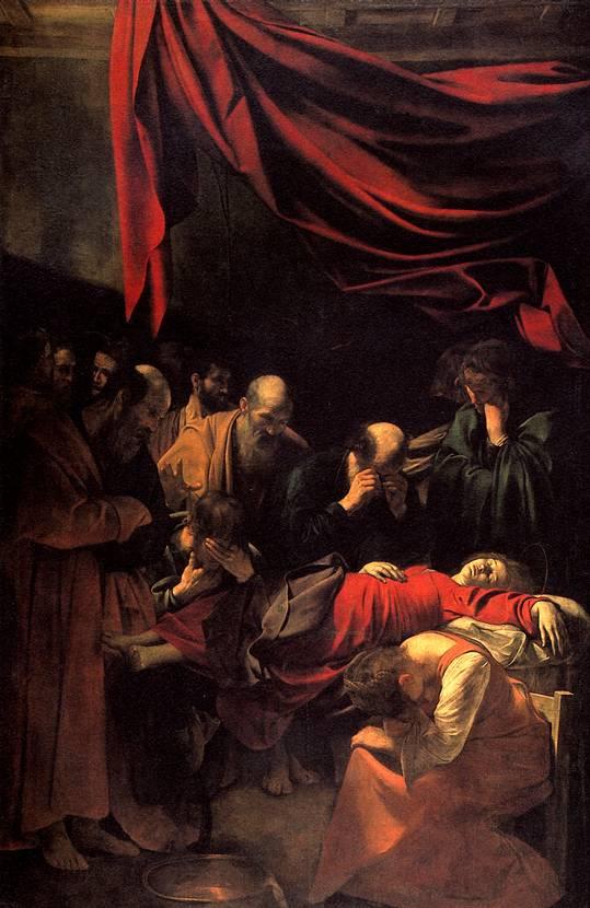 КАРАВАДЖО МИКЕЛАНДЖЕЛО МЕРИЗИ ДА Смерть Марии