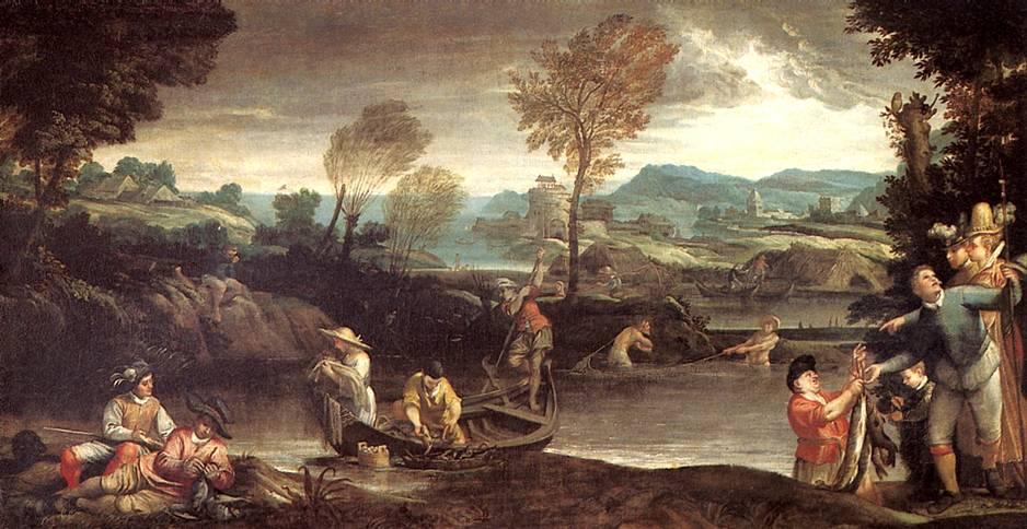 КАРРАЧЧИ АННИБАЛЕ Ловля рыбы