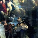 <b>КАРРАЧЧИ ЛОДОВИКО Мадонна с младенцем, являющаяся св. Гиацинту, 1594</b>