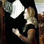<b>БЕРГОНЬОНЕ Св. Петр-мученик с женщиной-донатором</b>
