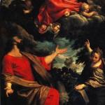 <b>КАРРАЧЧИ АННИБАЛЕ Мадонна, являющаяся св. Луке и св. Екатерине, 1592</b>