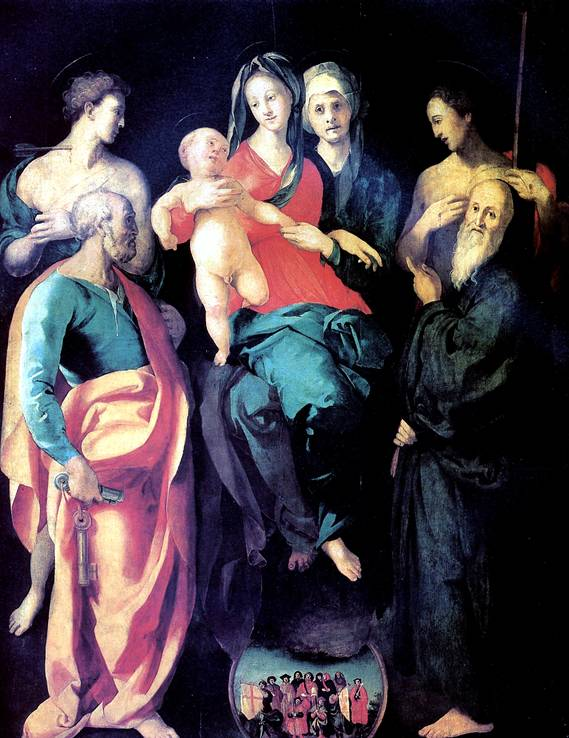 КАРРУЧЧИ ЯКОПО, ПРОЗВАННЫЙ ПОНТОРМО Понтормо, 1494 — Флоренция, 1557