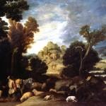 <b>КОЛЛАНТЕС ФРАНСИСКО Неопалимая купина; Бог приказывает Моисею вывести израильтян...</b>