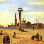 <b>КОРО ЖАН БАТИСТ КАМИЛЬ Венеция, Пьяццетта, август-сентябрь, 1834</b>