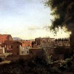 <b>КОРО ЖАН БАТИСТ КАМИЛЬ Вид Колизея от садов Фарнезе, 1826</b>