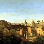 <b>КОРО ЖАН БАТИСТ КАМИЛЬ Вид Форума от садов Фарнезе, 1826</b>