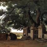 <b>КОРО ЖАН БАТИСТ КАМИЛЬ Ворота в тени деревьев, или Вход в замок</b>