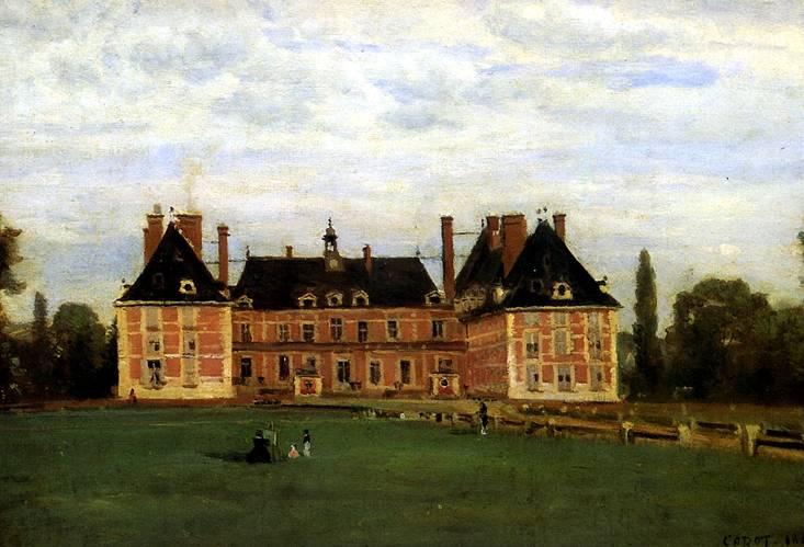 КОРО ЖАН БАТИСТ КАМИЛЬ Росни, замок герцогини Беррийской, 1840