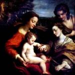 <b>КОРРЕДЖО Обручение св. Екатерины в присутствии св. Себастьяна и с мученичеством ...</b>
