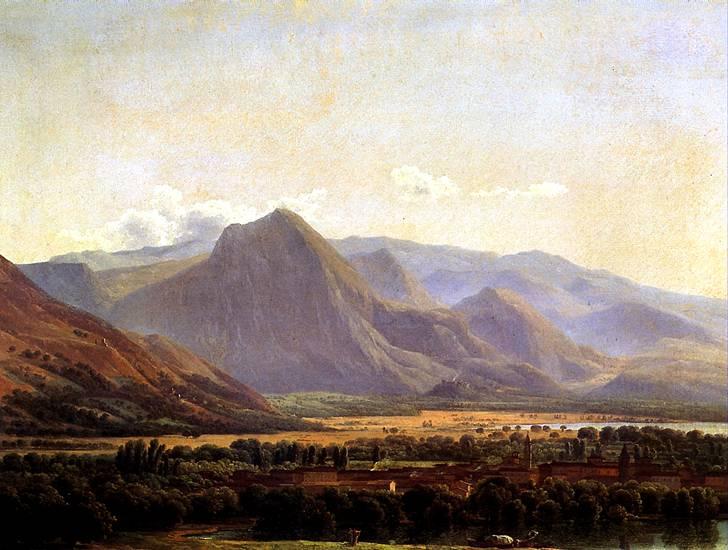 БИДО ЖОЗЕФ Вид города Аведзано, 1789