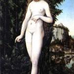 <b>КРАНАХ ЛУКАС СТАРШИЙ Венера на фоне пейзажа</b>