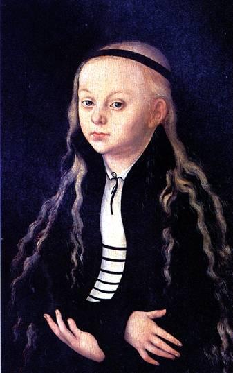 КРАНАХ ЛУКАС СТАРШИЙ Портрет (вероятно, Магдалины Лютер)