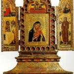 <b>КРОЧЕФИССИ СИМОНЕ ДЕИ (МАСТЕР РАСПЯТИЙ) Триптих с Богоматерью и младенцем, Благо...</b>