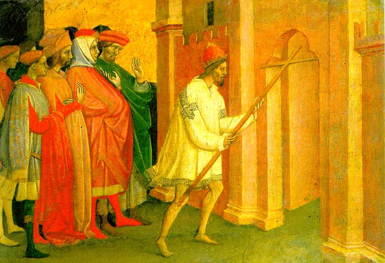 ЛАМБЕРТИНИ МИКЕЛЕ ДИ МАТТЕО Император Ираклий несет крест в Иерусалим