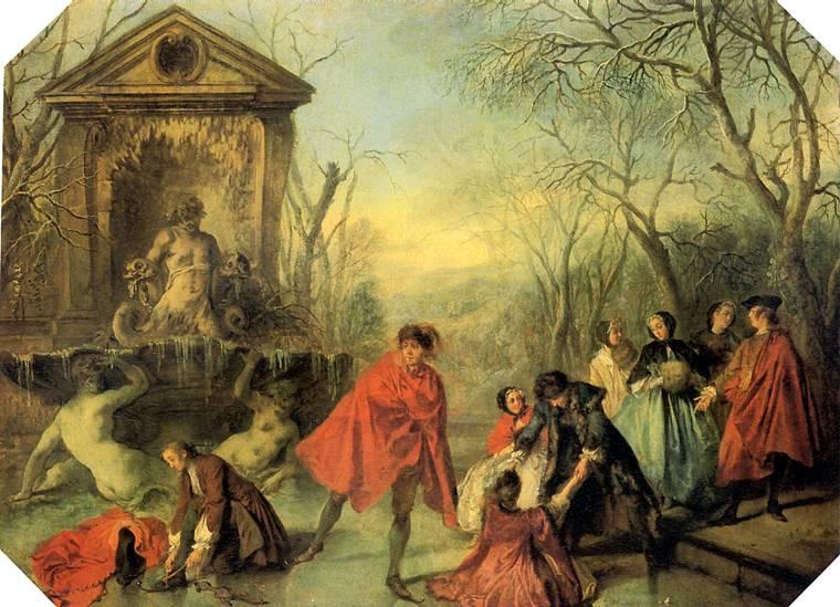 ЛАНКРЕ НИКОЛА Зима, 1738