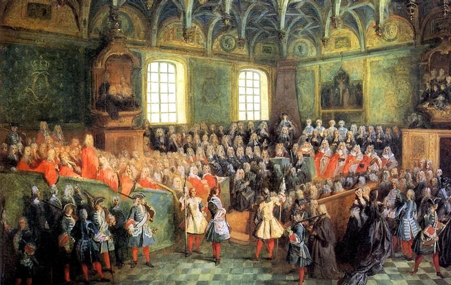ЛАНКРЕ НИКОЛА Место Правосудия в Парижском парламенте (1723), ок. 1724