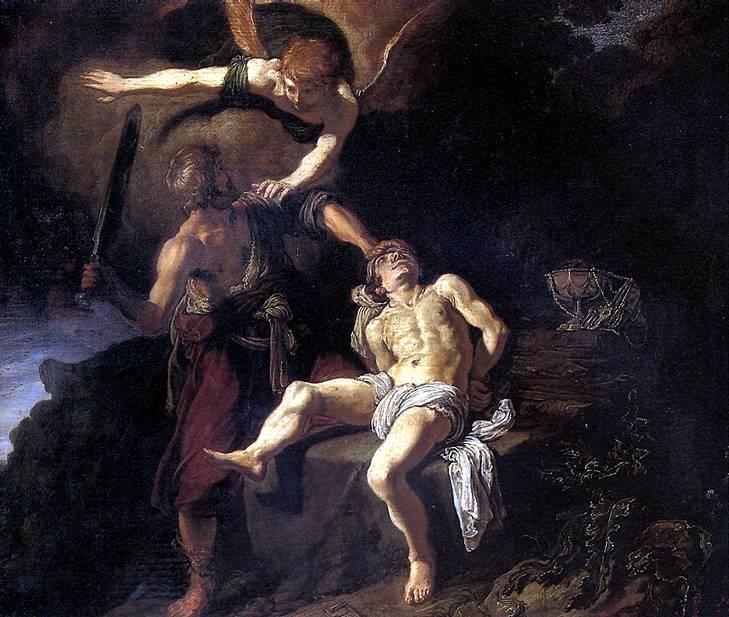 ЛАСТМАН ПИТЕР Жертвоприношение Авраама, 1616
