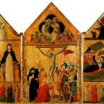<b>БОЛОНСКАЯ ШКОЛА Триптих с Распятием, Коронованием Марии, Благовещением, Мадонной...</b>