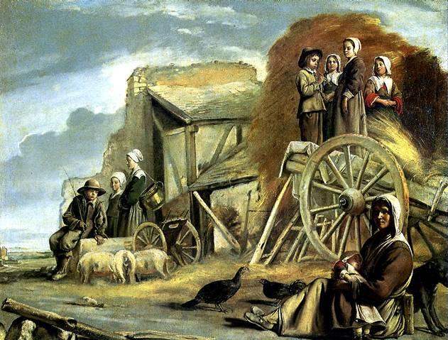 ЛЕНЕН ЛУИ Возвращение с сенокоса, 1641