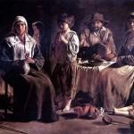 <b>ЛЕНЕН ЛУИ Крестьянская семья в интерьере</b>