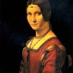 <b>ЛЕОНАРДО ДА ВИНЧИ Портрет дамы при миланском дворе</b>