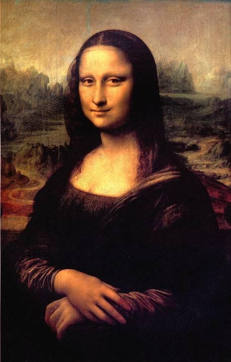 ЛЕОНАРДО Портрет Монны Лизы, прозванный Джоконда, 1503-1506