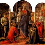 <b>ЛИППИ ФИЛИППО Мадонна с младенцем в окружении ангелов, со святыми Фредиано и Авг...</b>