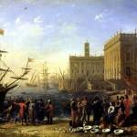 <b>ЛОРРЕН Вид гавани с Капитолием, 1636</b>