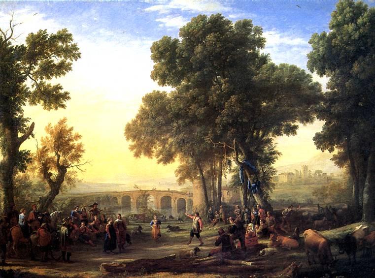 ЛОРРЕН Сельский праздник, 1639