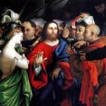 <b>ЛОТТО ЛОРЕНЦО Христос и грешница</b>