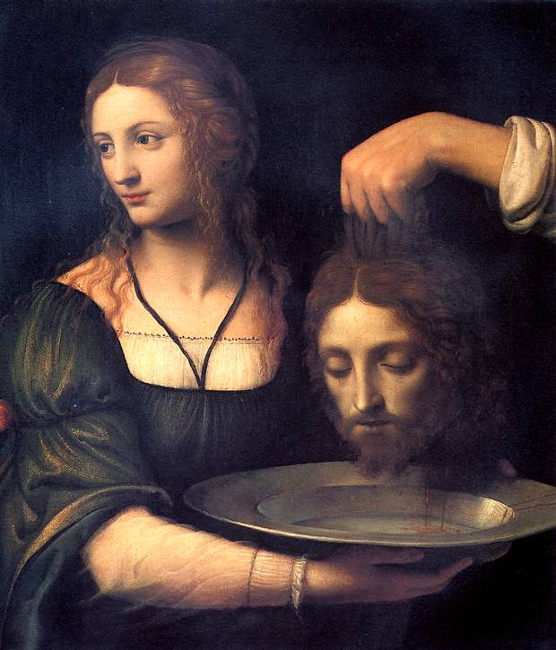 ЛУИНИ Саломея с головой св. Иоанна Крестителя