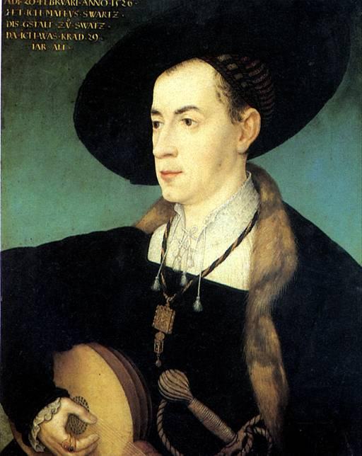 МАЛЕР ХАНС Маттеус Шварц, 1526
