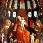 <b>МАНТЕНЬЯ Мадонна с младенцем в окружении шести святых, с донатором Джанфранческо...</b>