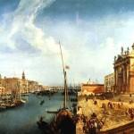 <b>МАРИЕСКИ МИКЕЛЕ Вид на Большой канал и церковь Санта-Мария делла Салюте в Венеци...</b>