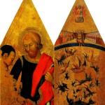 <b>МАСТЕР ВОССТАВШИХ АНГЕЛОВ Св. Мартин и нищий; Падение восставших ангелов</b>