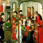 <b>МАСТЕР ИЗОБРАЖЕНИЙ ЦЕРКВИ СВ. ГУДУЛЫ Проповедь св. Герита с видом церкви св. Гуд...</b>