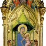 <b>МАСТЕР КОДЕКСА СВ. ГЕОРГИЯ Богоматерь с младенцем на троне в окружении ангелов, ...</b>