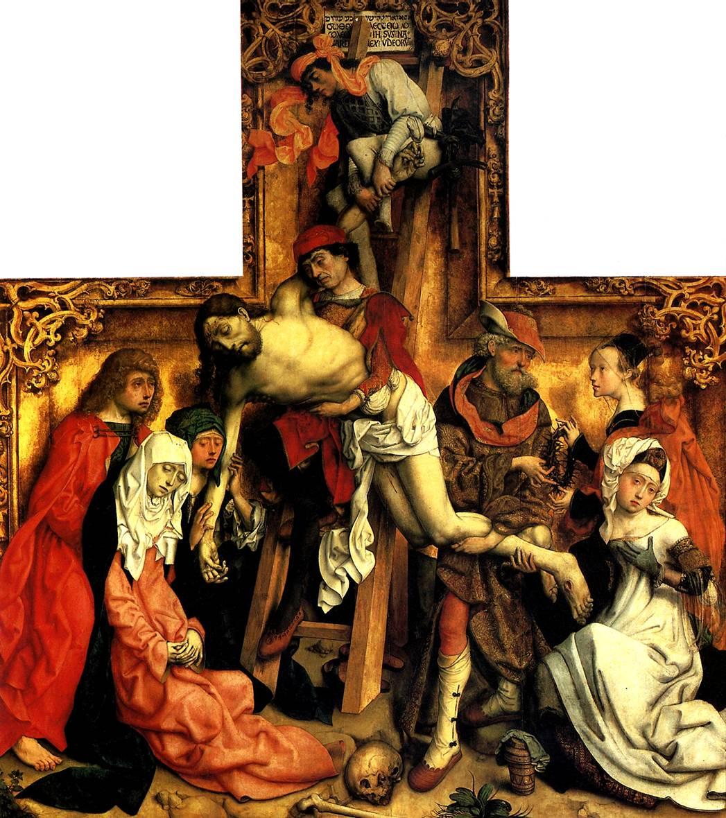 МАСТЕР СВ. ВАРФОЛОМЕЯ Снятие с креста