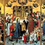 <b>МАСТЕР СВЯТОЙ РОДНИ Алтарь Семь радостей Богоматери: Поклонение волхвов, Принесе...</b>