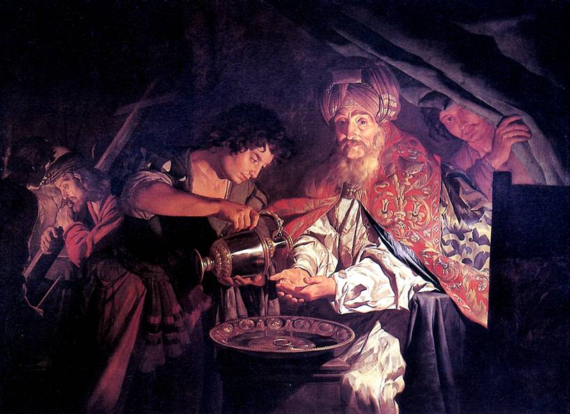 МАТТИАС ШТОМЕР Пилат, умывающий руки