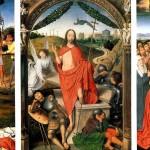 <b>МЕМЛИНГ Воскресение с Мученичеством св. Себастьяна и Вознесением. Триптих</b>